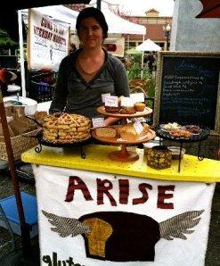 Reah Roberts of Arise Bakery