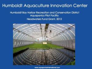 Humboldt Aquaculture Innovation Center