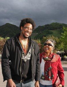 favorite pic of Kamau and me